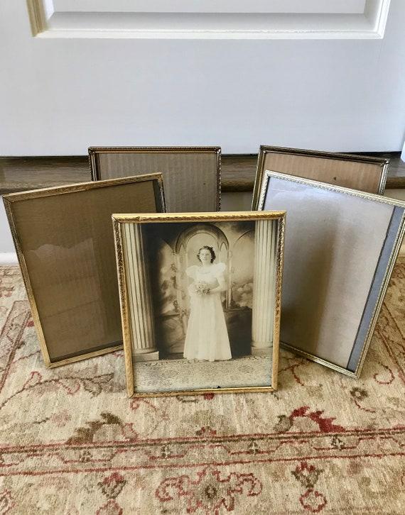 Frames Brass Frame Gold Picture Frames Vintage Frames 8x10 Etsy