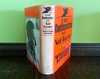 Vintage Books Decor Books The Confessions of Nat Turner William Styron Old Books Vintage Black Book Lover Gift for Reader Gift Library Decor