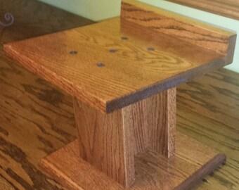 Custom Make Solid Oak Speaker Stands