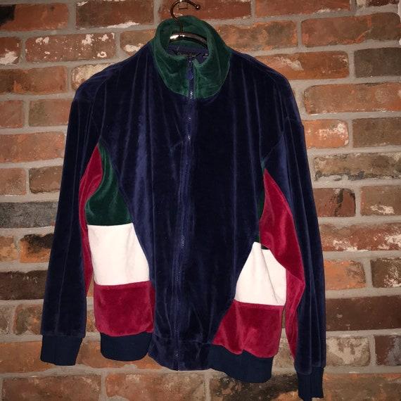 Christian Dior velour vintage track jacket