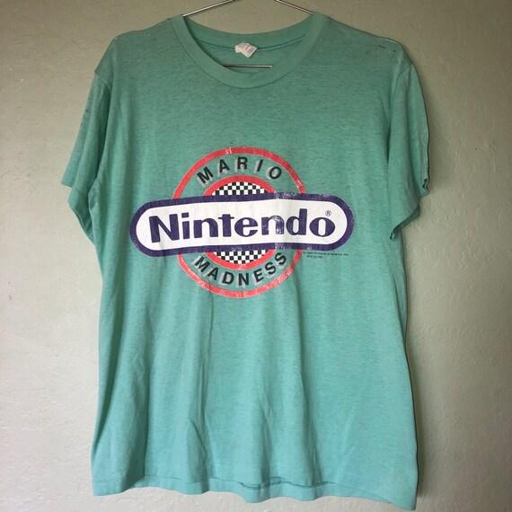 80s Nintendo Mario madness T-shirt