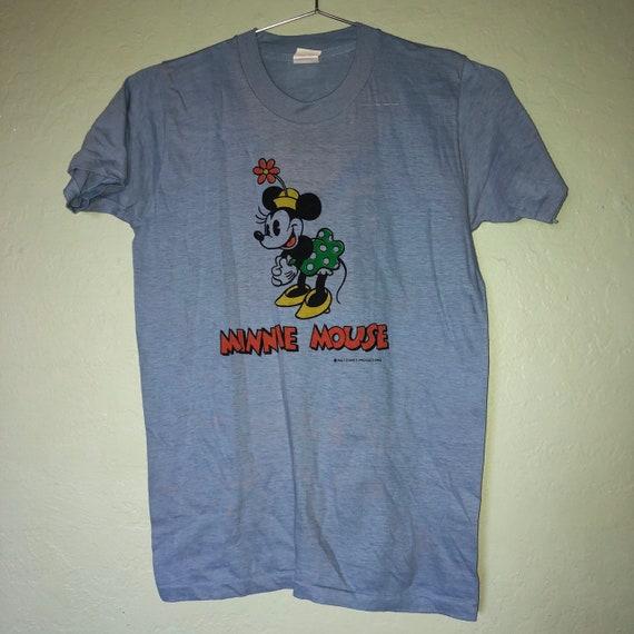 70s Walt disney Minnie Mouse mirrored tshirt