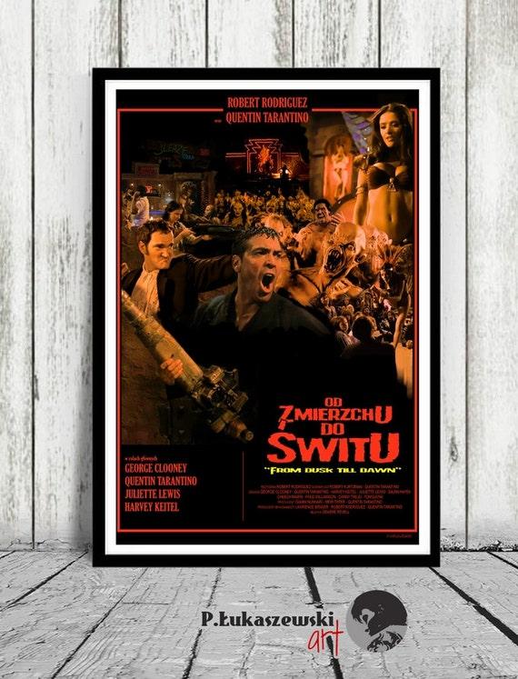 From Dusk Till Dawn Tarantino Classic Large Movie Poster Print