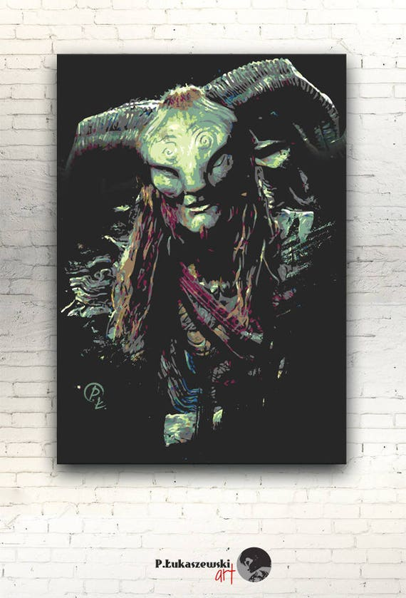 Art print POSTER CANVAS Pan/'s Labyrinth