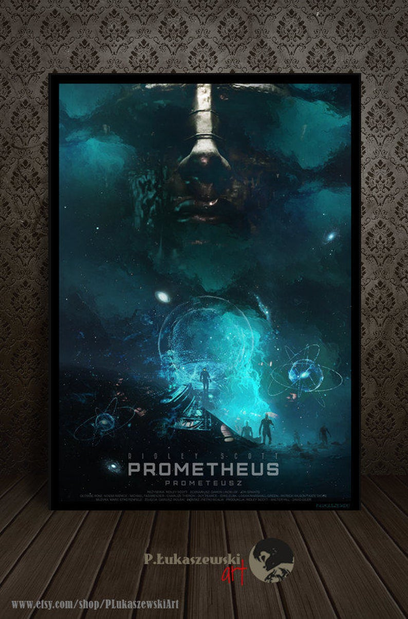 Prometheus Official Poster