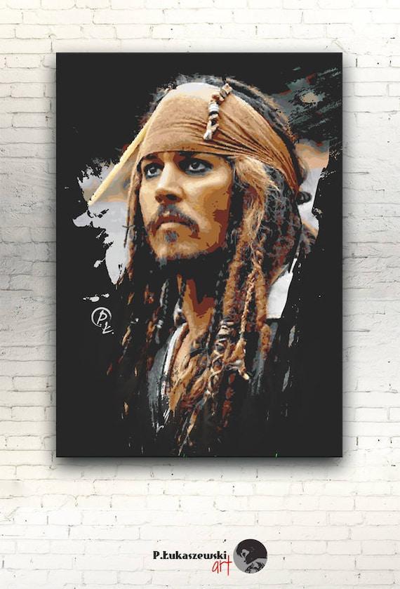 Pirates of the Caribbean Dead Men Tell No Tales Poster T511 A4 A3 A2 A1 A0 