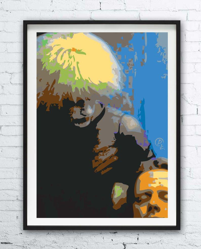 Blade Runner 1982 Movie Poster Alternative Art High Quality Prints