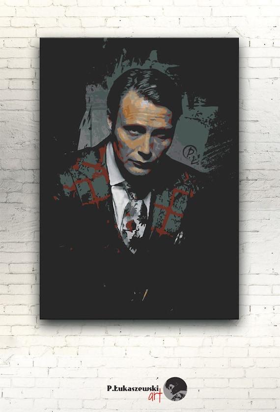 Hannibal Canvas 12x8 Artwork Print On Cotton Etsy