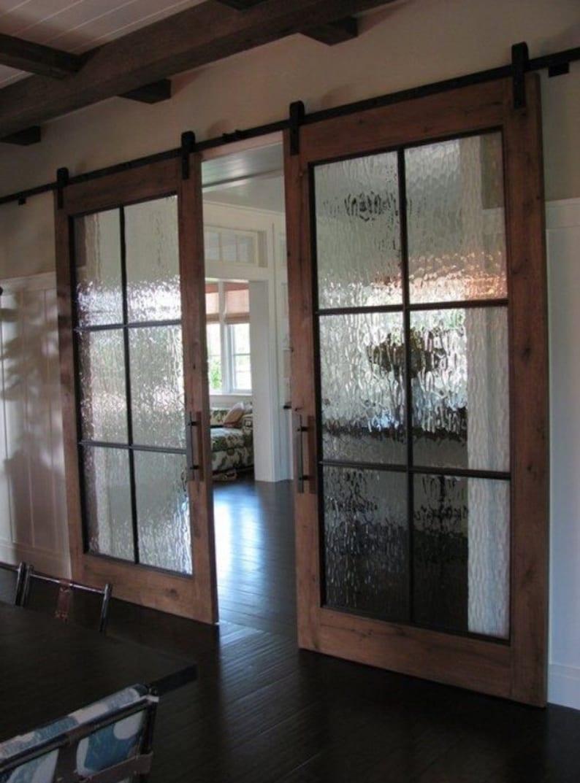 Beautiful Glass Barn Doors Etsy