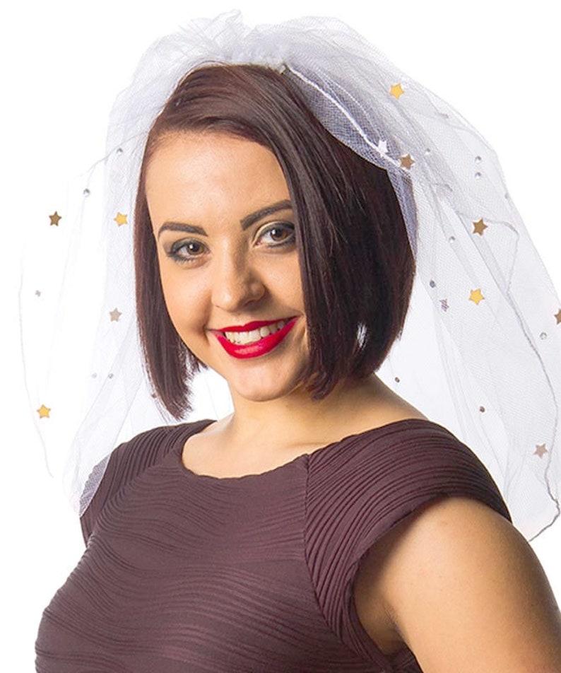 Bride to be Veil Hen Party Decorations Bachelorette Veil Bridal Party Veil Hen Do Accessories Bridal Shower Rose Gold Hen Party Veil
