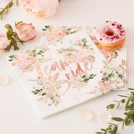 Hen Do Photo Album 6x4 Team Bride Rose Gold Wedding Hen Party Accessories Gift