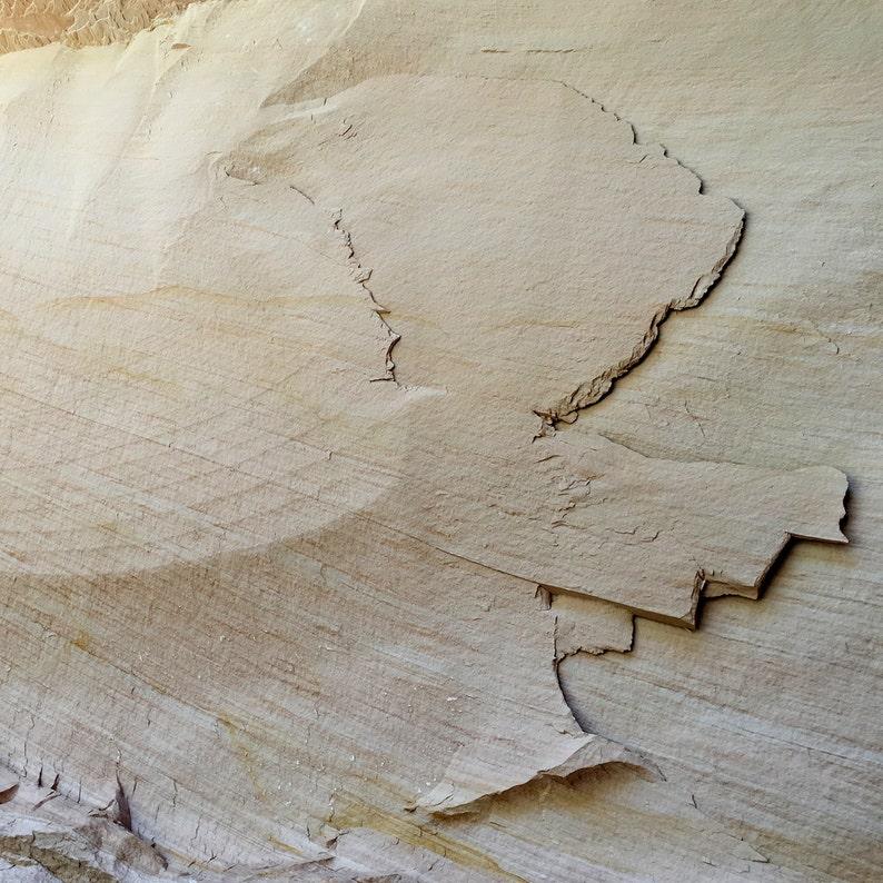 Hidden Sandstone  aluminum print image 0