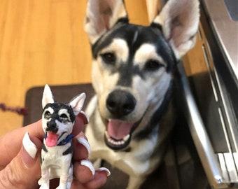 Personalized custom pets, Dog wedding cake topper, Pets Birthday, Pet party, unique pet Miniature, Anniversary pet,