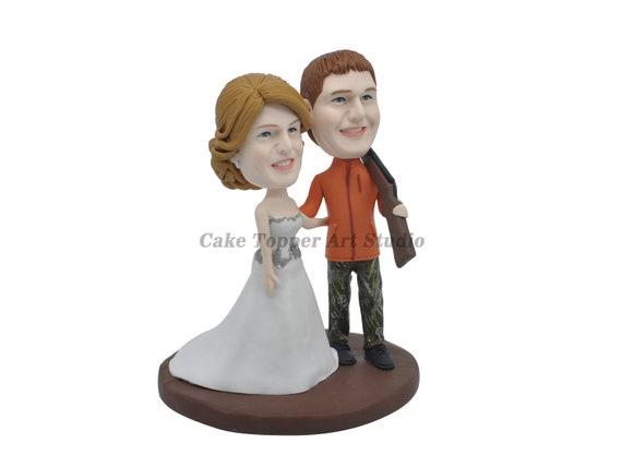 Customized Outdoor Hunting Pets Theme Wedding Cake Etsy