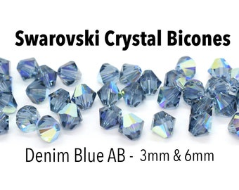 Czech Crystal Glass Faceted Bicone Beads 3mm Pale Blue 100 Pcs Art Hobby Crafts