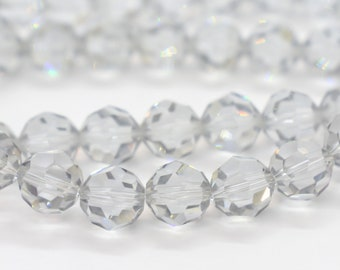 6c88aa5a9 CCR 90 MIXED SIZES CLEAR AB RONDELLE 3+6+8mm SWAROVSKI CRYSTAL BEADS USA  SELLER