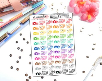 Youtube Film Edit Upload Planner Stickers | Great for any planner