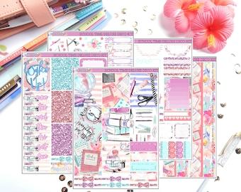 Deluxe Deco Kit- School Time | Weekly Planner Sticker Kit