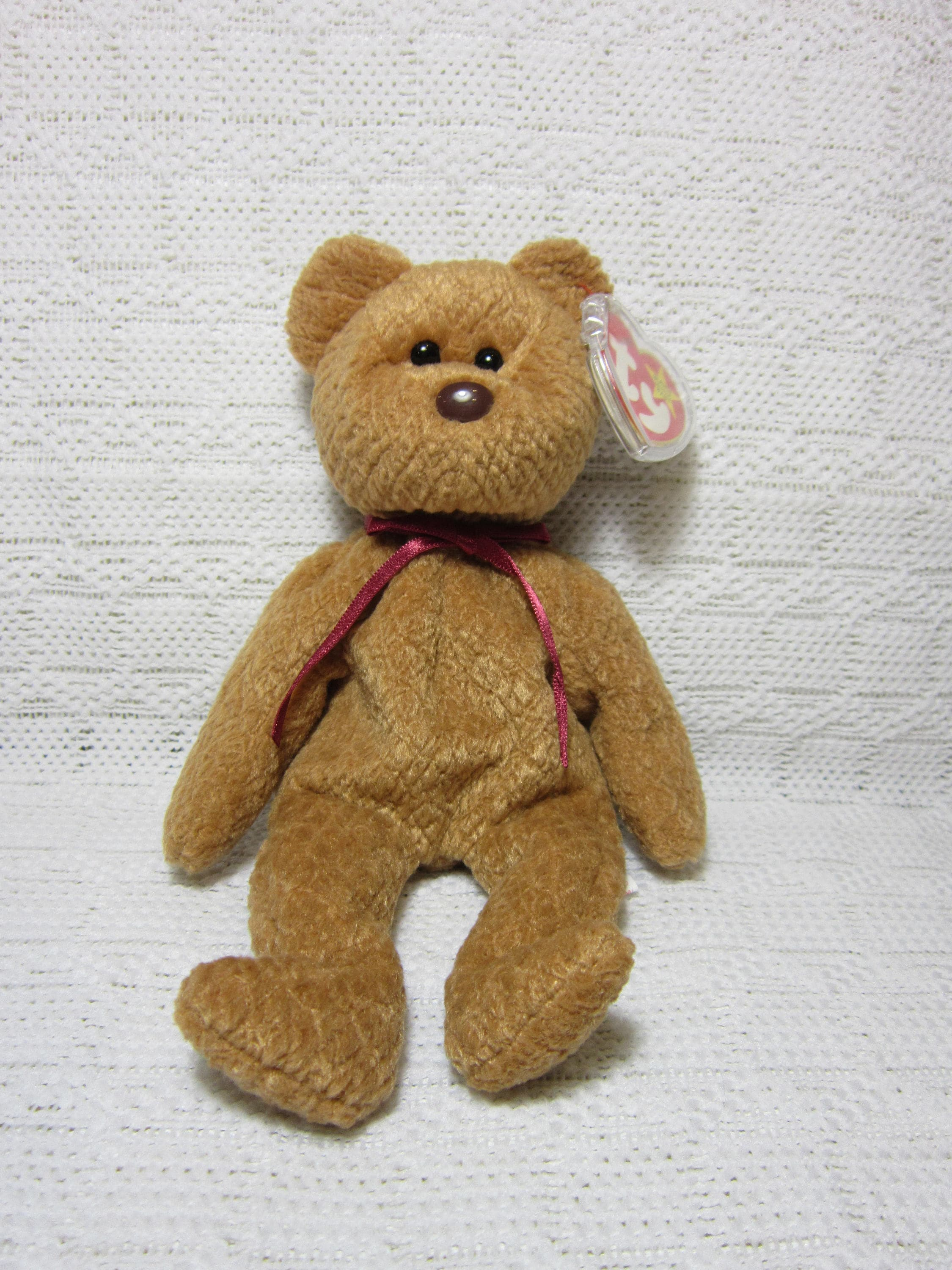 1057d614ec6 Rare Collectible Curly The Bear Ty Beanie Baby