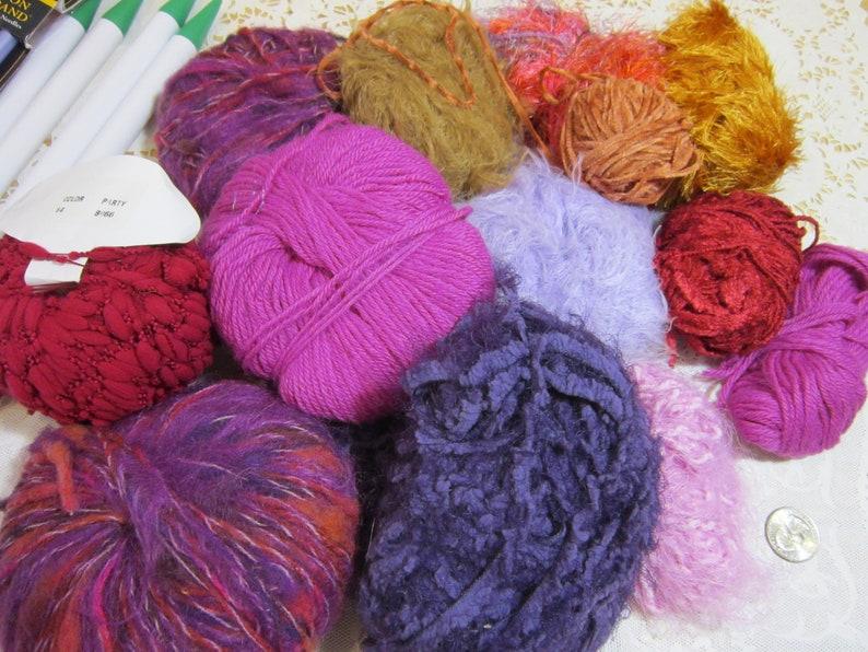 Destash Yarns  Knitting Needles and Knitting Book