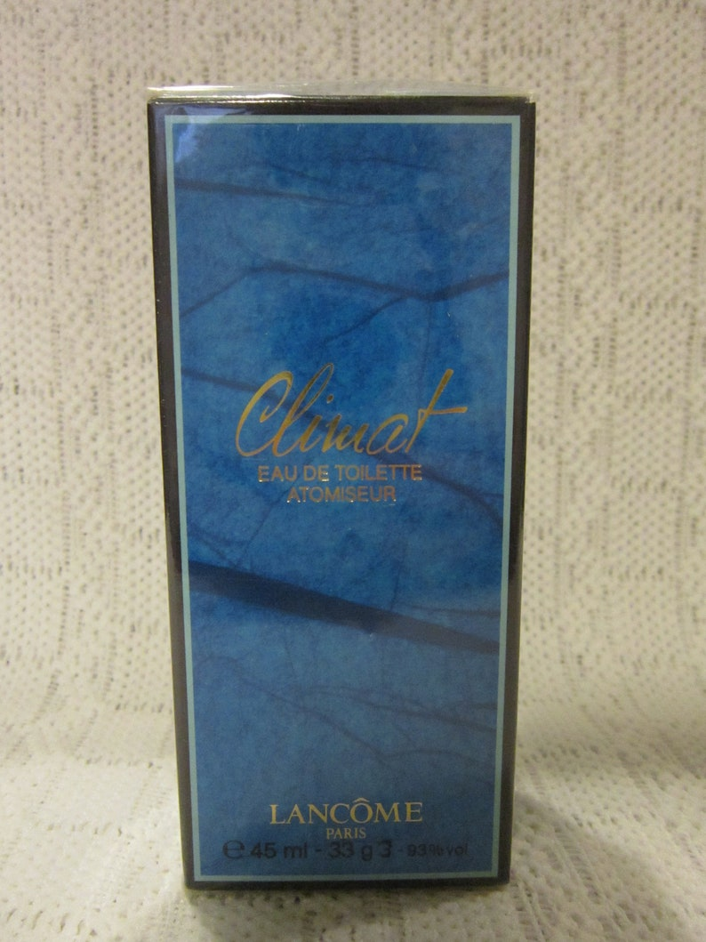 Vintage Climat De Toilette 45 Box 1 5 Ml Oz Lancome Sealed Eau wkiuTXPOZl