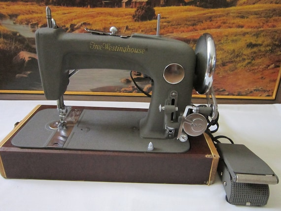 Vintage FreeWestinghouse Electric Sewing Machine Model40F In Etsy Best Free Westinghouse Sewing Machine Value