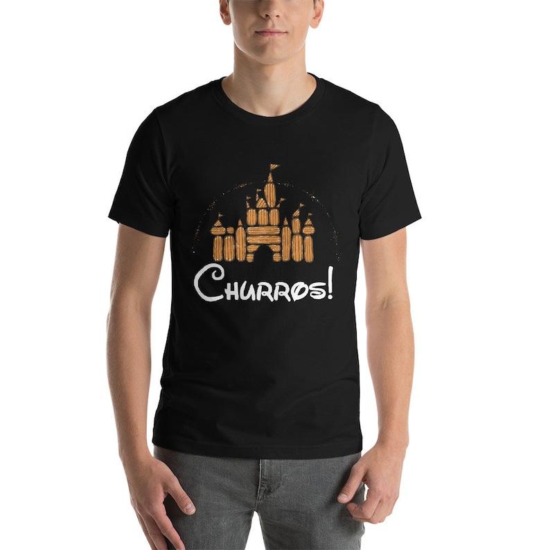 Churro Castle Shirt Mens image 0