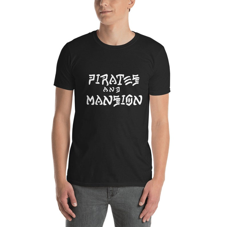 Pirates and Mansion Skate T-Shirt image 0