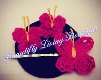 "Beautifly Living Boutique's Handmade ""Beautifly Free"" Earring Set"