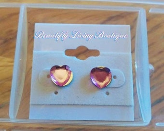 """Beautifly Living Boutique's """"Heart of the Matter"""" Earring Pair"""