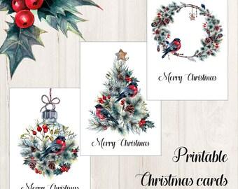 printable christmas cards etsy printable christmas cards etsy