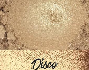 Disco, Beige, 10 gram jar, Mineral Eyeshadow Pigment, Disco