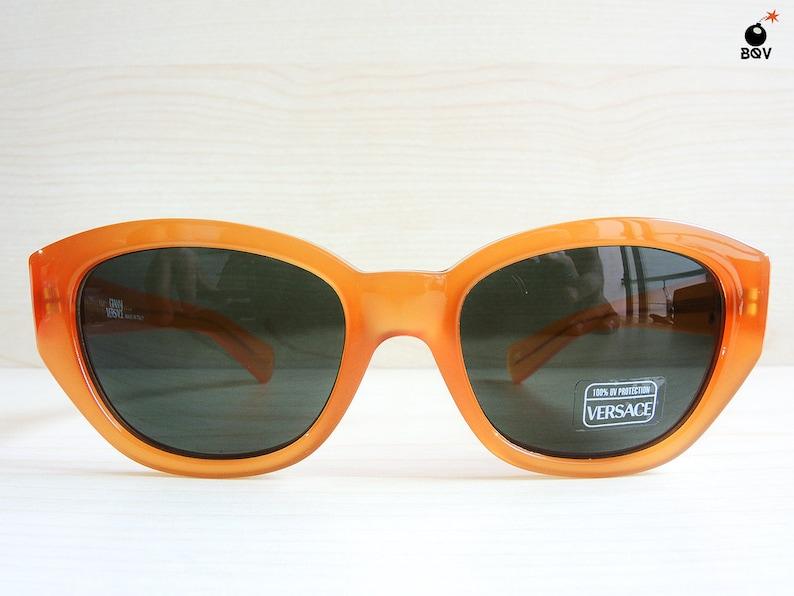 GIANNI VERSACE vintage sunglasses mod. 462 col. 443 orange image 0