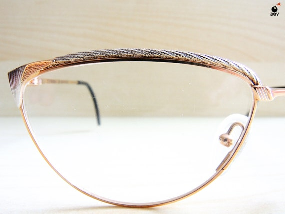 8b5a52ddc30 Vintage TIFFANY eyeglasses spectales 24k gold plated