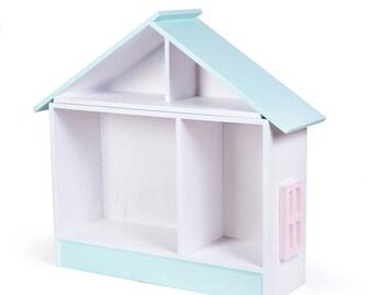 huis boekenkast poppenhuis