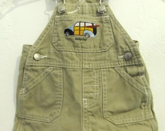 49942a43b9a8 AD0RABLE Vintage 90 s Tan Colored SH0RTALLS By BABY GAP.XS(0-3mos)