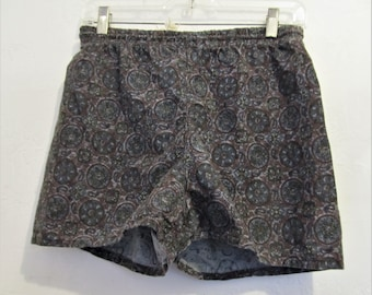 Polo Ralph Lauren Rare Aztec Tribal Floral Boatd Shorts Men's Size 36 Large Up-To-Date Styling Men's Clothing