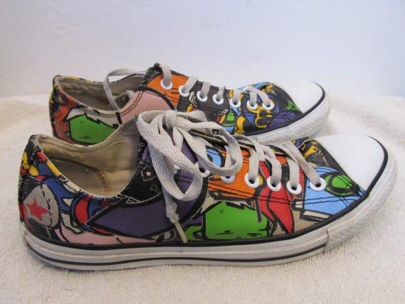 11 Men Sneakers 5Eur Star CONVERSE 9 CARTOON 42 RETRO All Style Wom Vintage xgHRpH