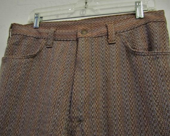 Reduced@@Men's Vintage 60's,Jaquard Striped Knit … - image 4