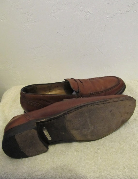 5D FLORSHEIM 90's Men's Vintage By Brown Imperial Colored RUGGED 10 PENNY L0AFERS wqUOxP