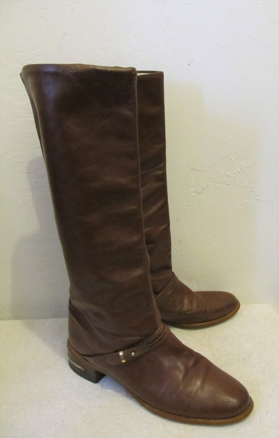 Women's Tall,MOD Vintage 60's,Brown Colored RIDING