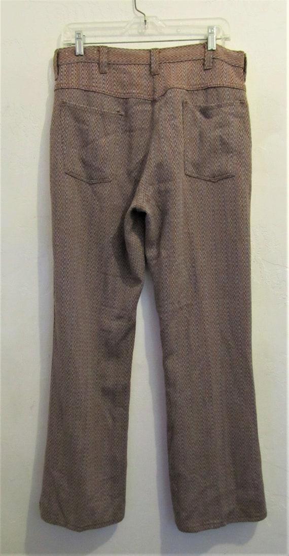 Reduced@@Men's Vintage 60's,Jaquard Striped Knit … - image 2
