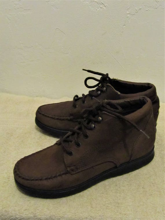 Boots DEXTER By Vintage Brown 8M 80's Ankle Walking Women's MOC nY41Bqw08