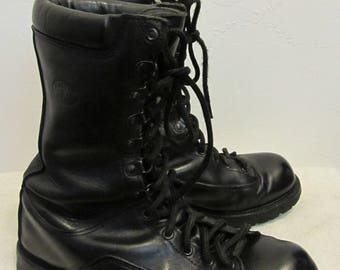 Men's Vintage 80's,Black GORE-TEX Combat/Explorer Type Boots By MATTERHORN.9.5M