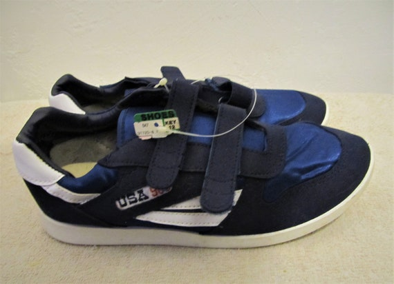90's Men's Sneakers VELCR0 900 9 By Vintage K USA MART Close Blue NWT pBxpqEAr