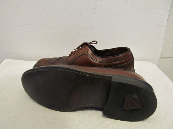 des Vintage Shoes BEATNiK CORD0VON hommes aile 70 8D brun zxRwCFxqAd