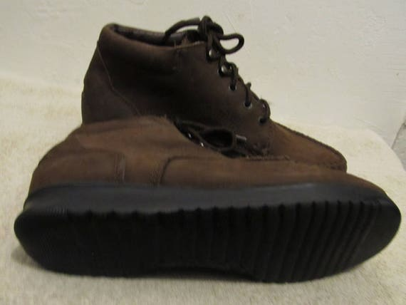 Vintage Boots MOC Brown Ankle By 80's Women's Walking 8M DEXTER pHwOdWqpYn