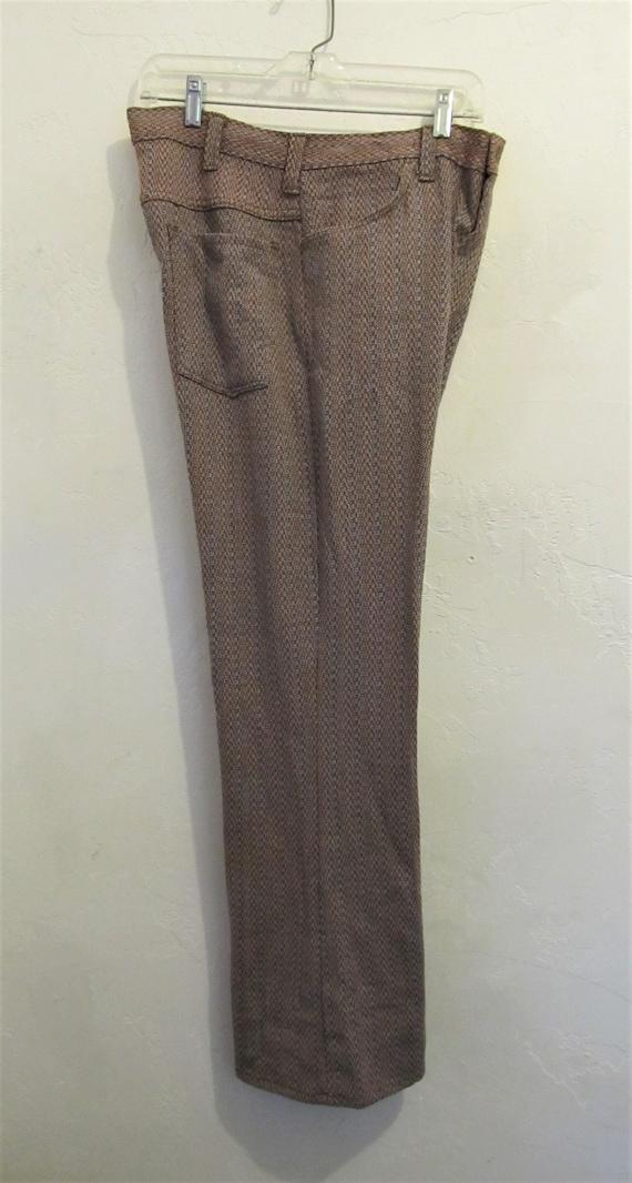 Reduced@@Men's Vintage 60's,Jaquard Striped Knit … - image 3