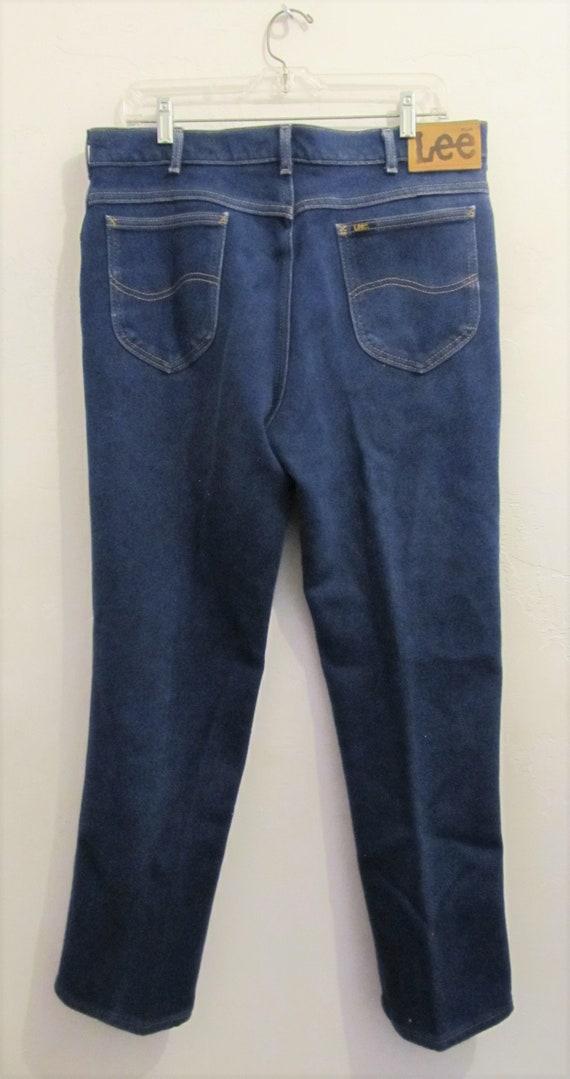Men's Vintage 80's Blue BOOTCUT Stretch Jeans By L