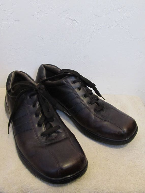 By Dark 90's Men's 5 Eur Striped 13US Brown Mod Vintage SKECHERS 2 47 Oxfords qAAn18